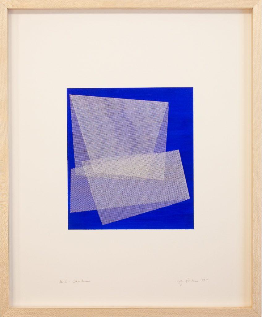 Moiré - Ultramarine Blue