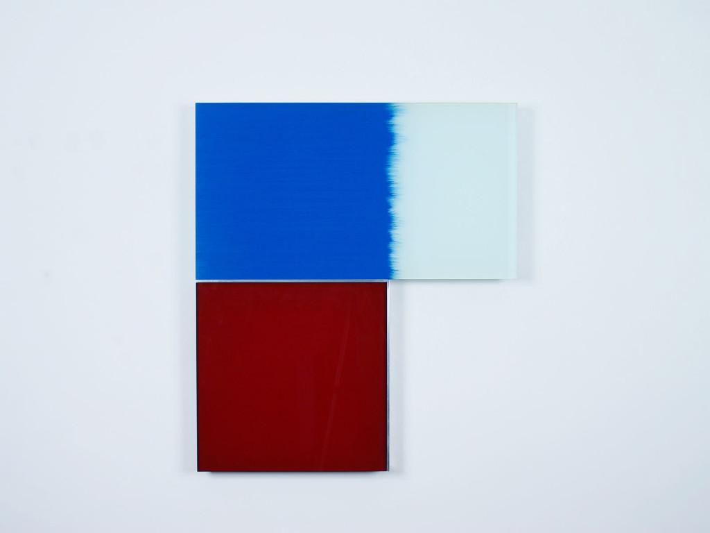 Cerulean Blue & Crimson